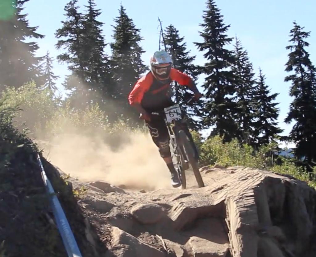 Qualifying at Stevens Pass