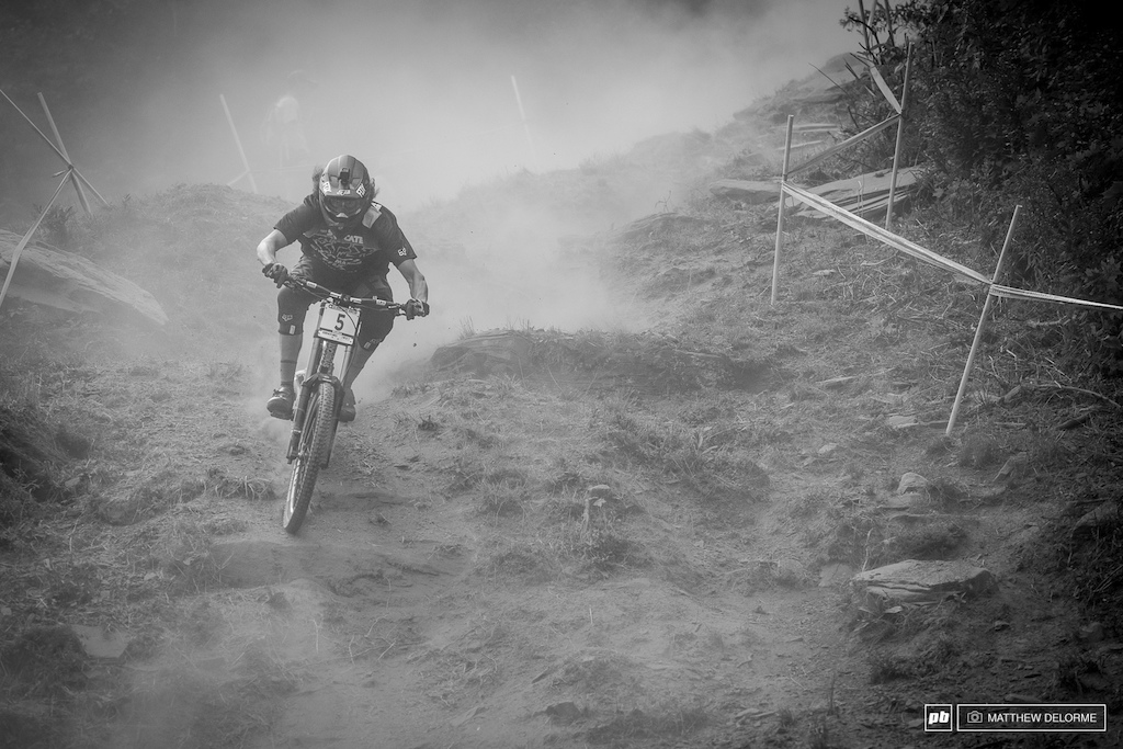 Josh Bryceland is also known as Rat Boy, or Ratty. Josh won the last round at Mont Sainte Anne. He looks back on form, we are huge fans of Ratty and his return to the podium.