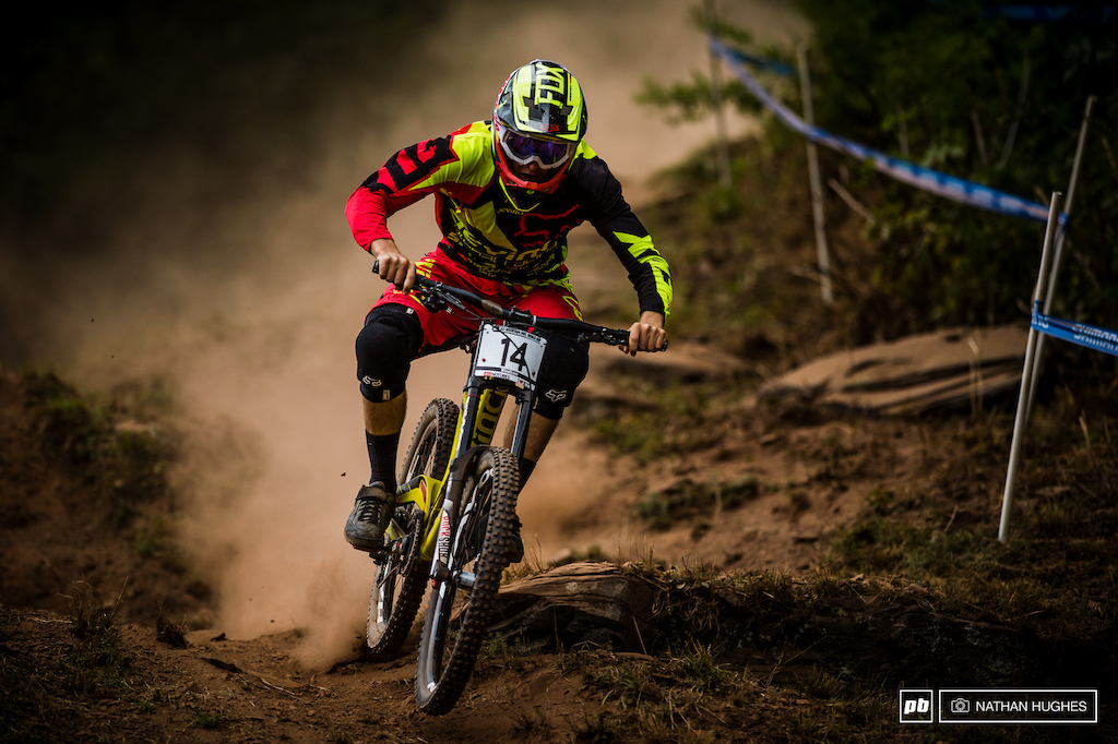 Dean Lucas loves a bit of dust and the 14 plate will be hoping conditions remain as similar to that of Lenzerheide as possible.