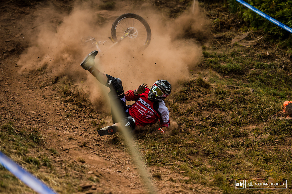Huge crash on the chute at Windham WC Round 6