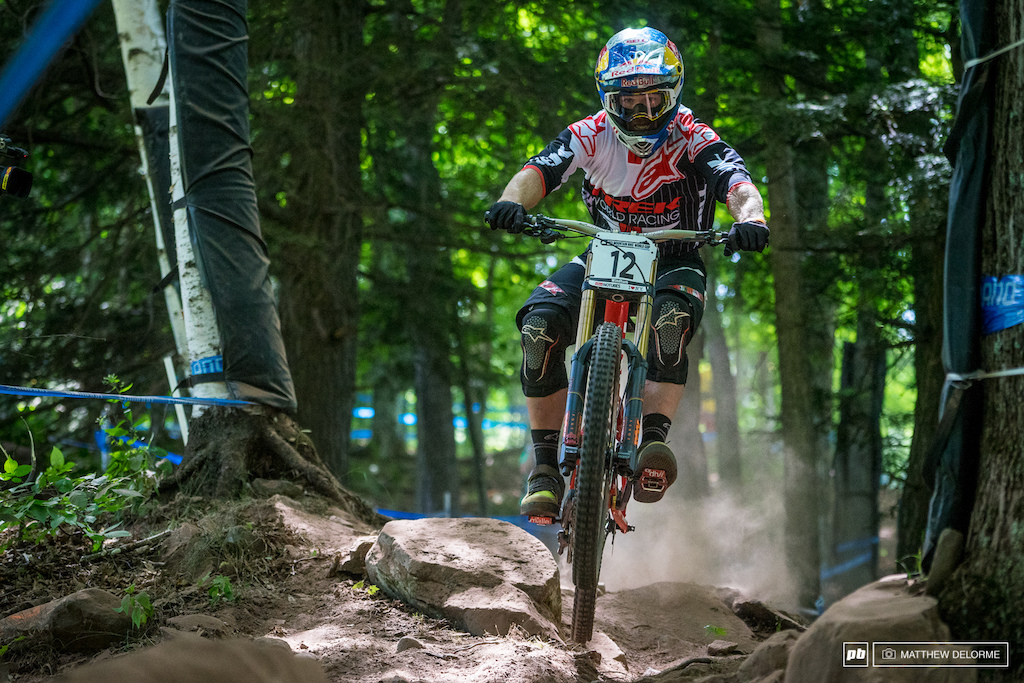 Brook MacDonald smashed his way to a seventh place quali result today. It would be good to see him up on the box here.
