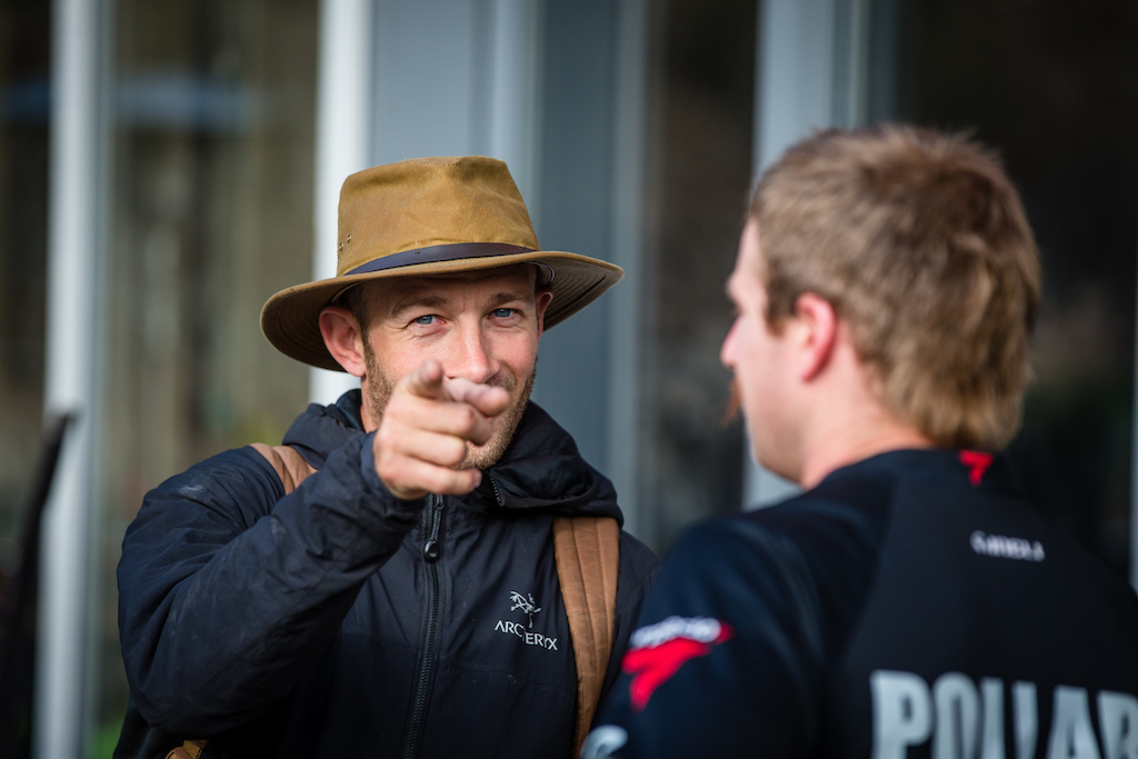 Seb Kemp is once more the mastermind behind the race course here in Whistler and from what the riders are saying he s come up trumps once more.