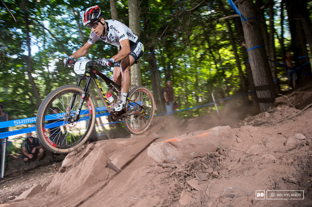 Avancini aside Nino Schurter took the lead on the first lap and was never out of the top 3 for the rest of the race.