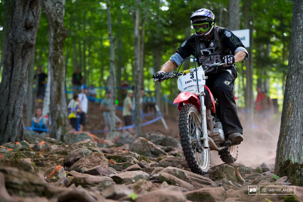 Huge shout out to Jay de Jesus, he rode lead moto for all the XC races, that's a lot of laps!