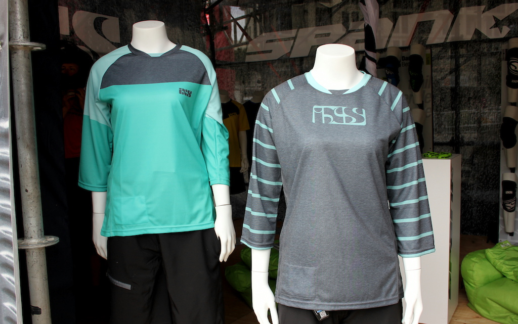 New range of iXS clothing made from PET recycled plastic bottles.