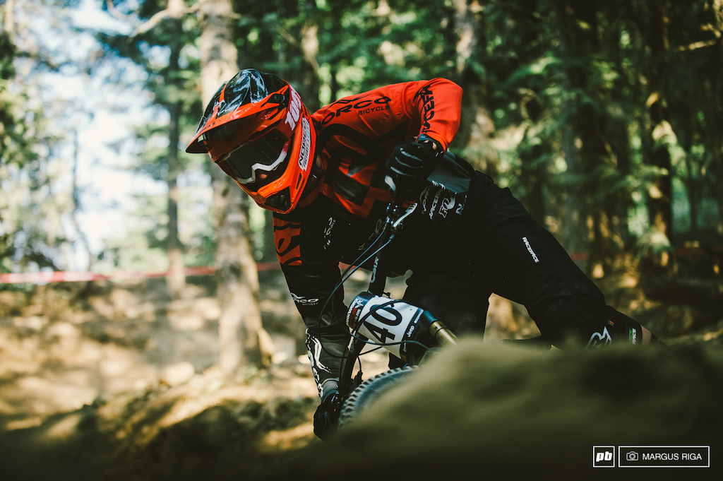 Norco Factory Racing team member and Whistler local Jack Isles.