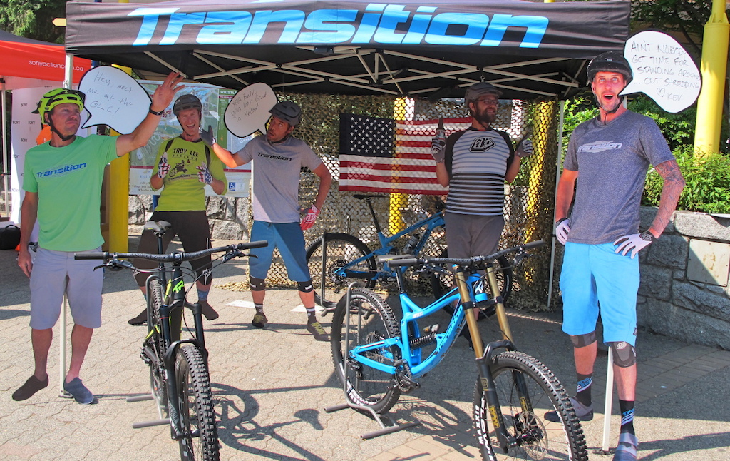 The crew at Transition was looking alive today. Good to see the whole crew out and working the booth.