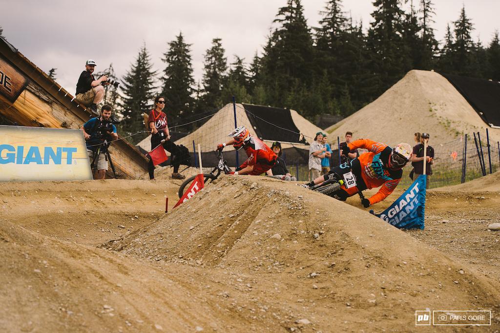 Kyle Strait and Kurt Vories