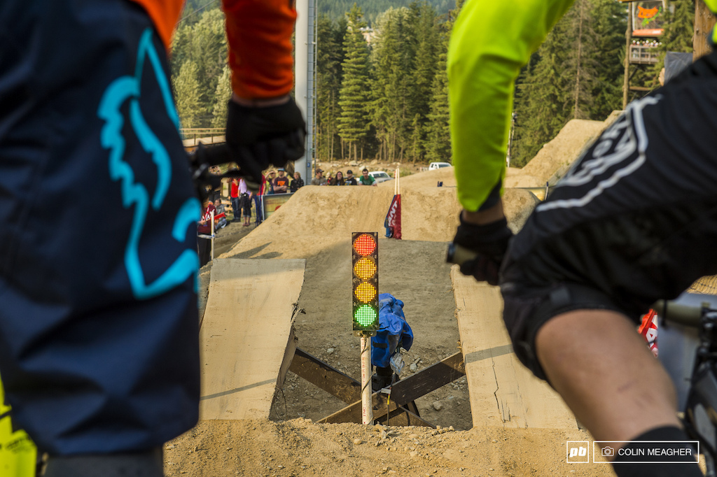 Dual Slalom is pretty straight forward gather up a bunch of your best friends build a track install a timing system and then proceed to kick the snot out of each other. High fives and beers are must post ride.