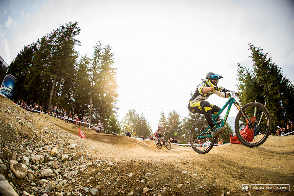 Martin Maes took second with a crash in the final. Now we can't wait to see how he does at worlds.