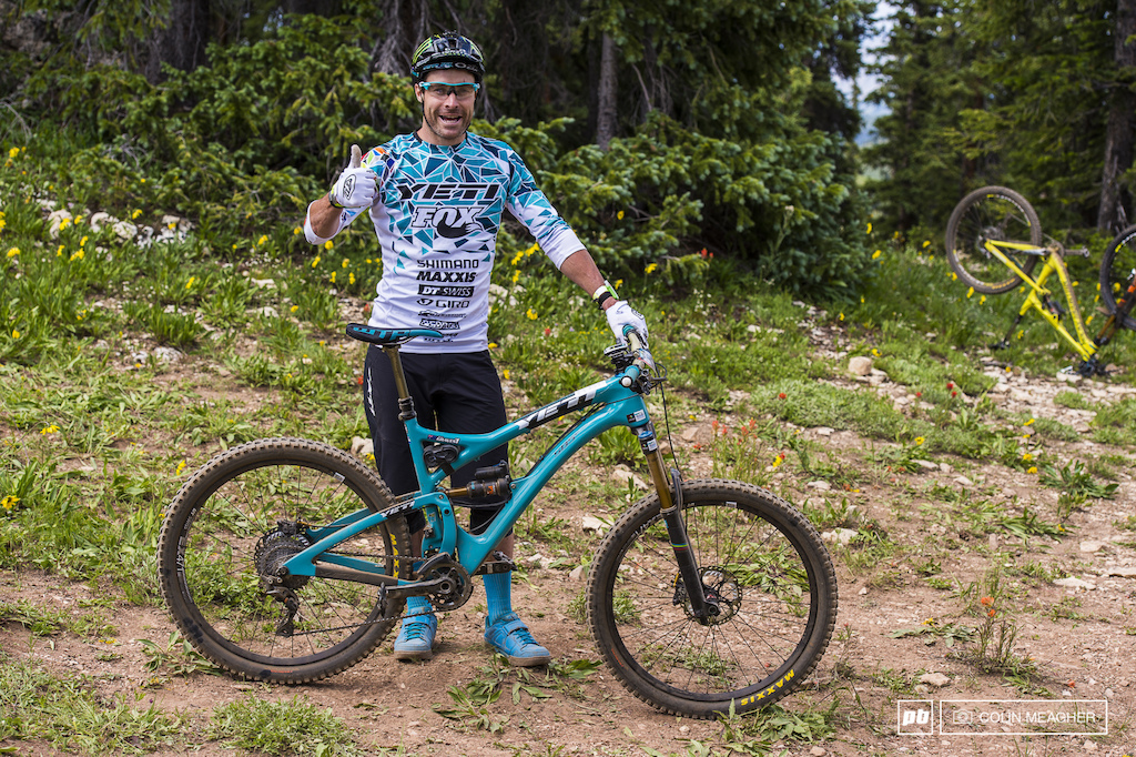 Jared Graves EWS bike - Crested Butte