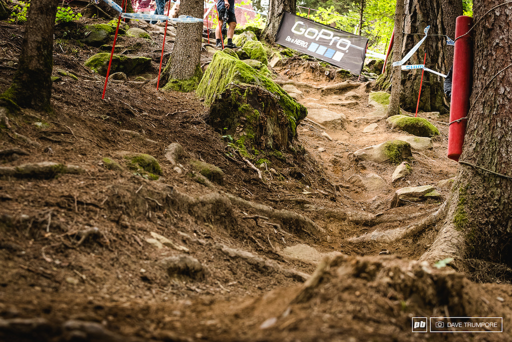 Steep fast and rough. Val Di Sole is one of the best tracks of the year in the opinion of many.