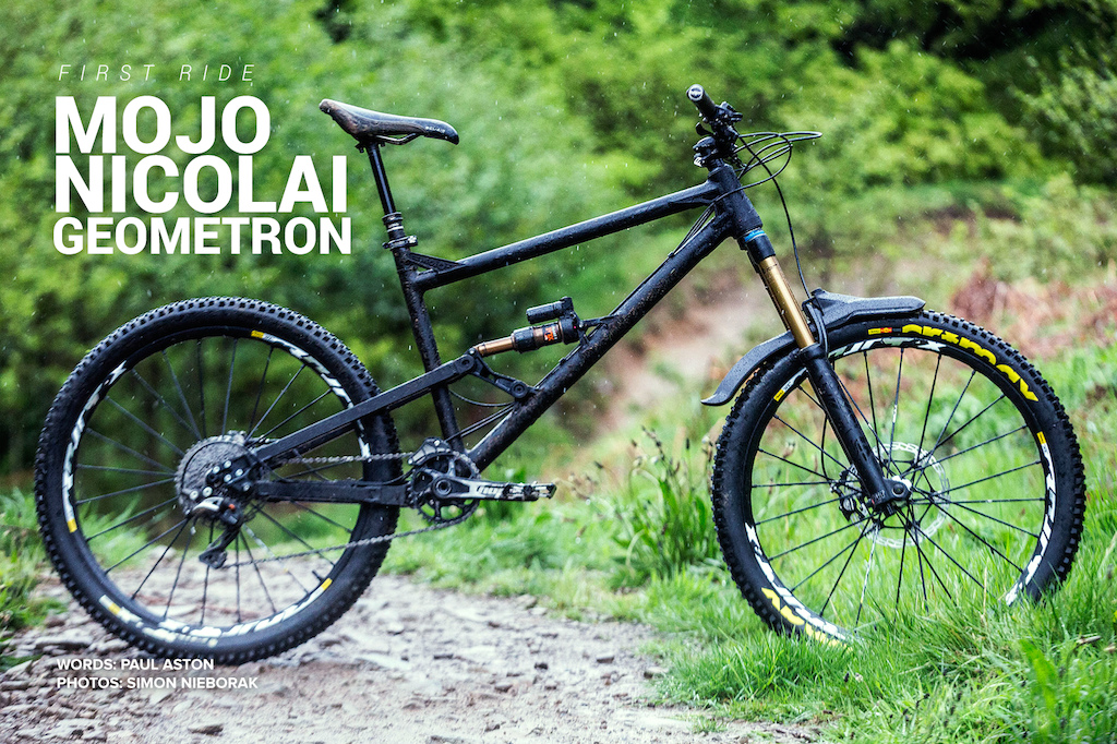 First Ride - Mojo Nicolai Geometron