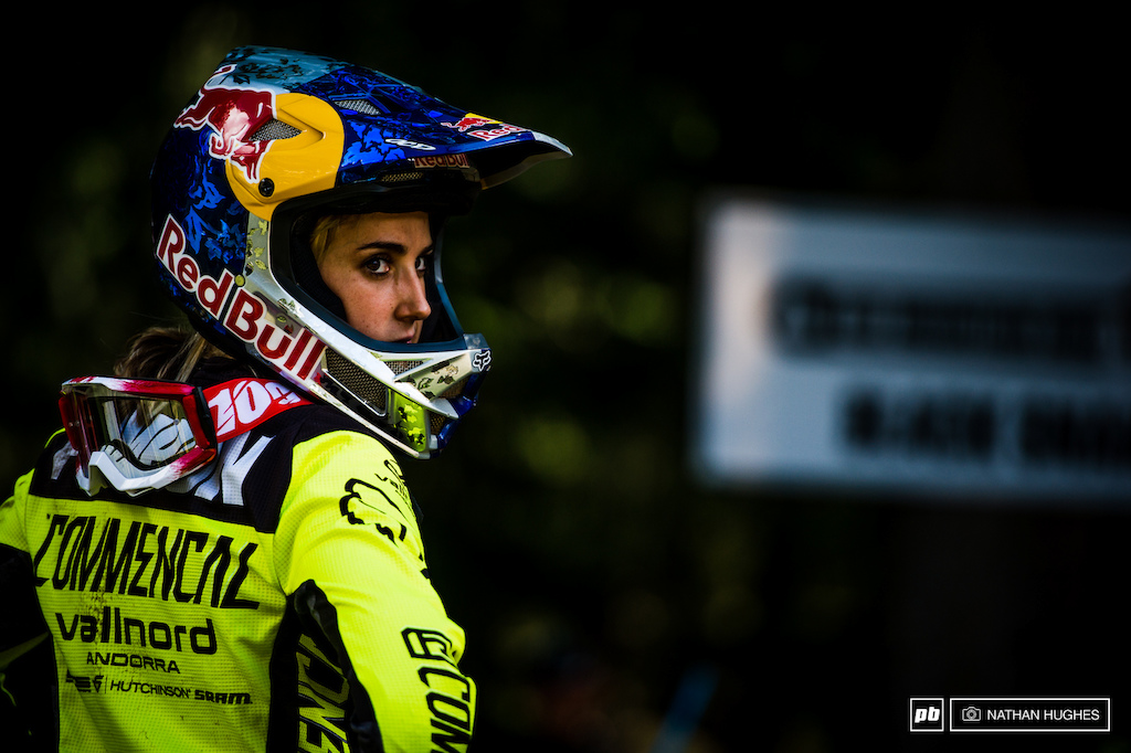 Nothing to lose and everything to gain Myriam Nicole will by vying for the top step before things get personal in Vallnord.