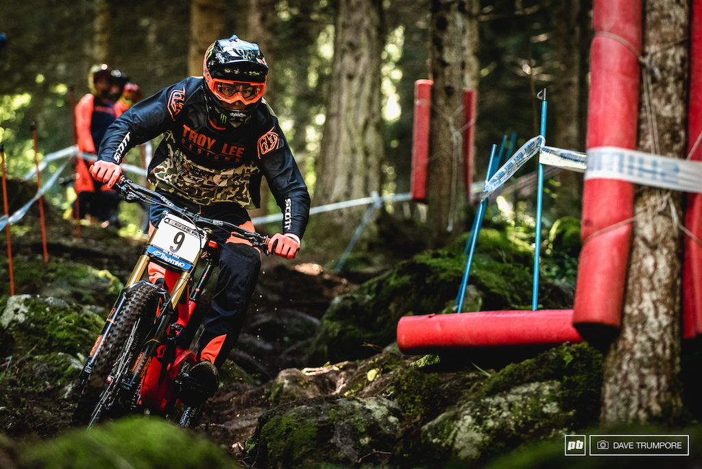 Brendan Fairclough is having one of his best seasons and plans to leave Val Di Sole well inside the top 10 overall.