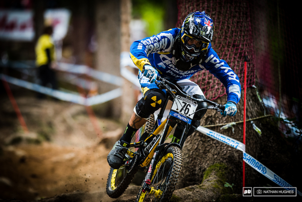 Fighting fit for champs was the goal and today seemed to be another fast paced cruise into the later ranks for Sam Hill.