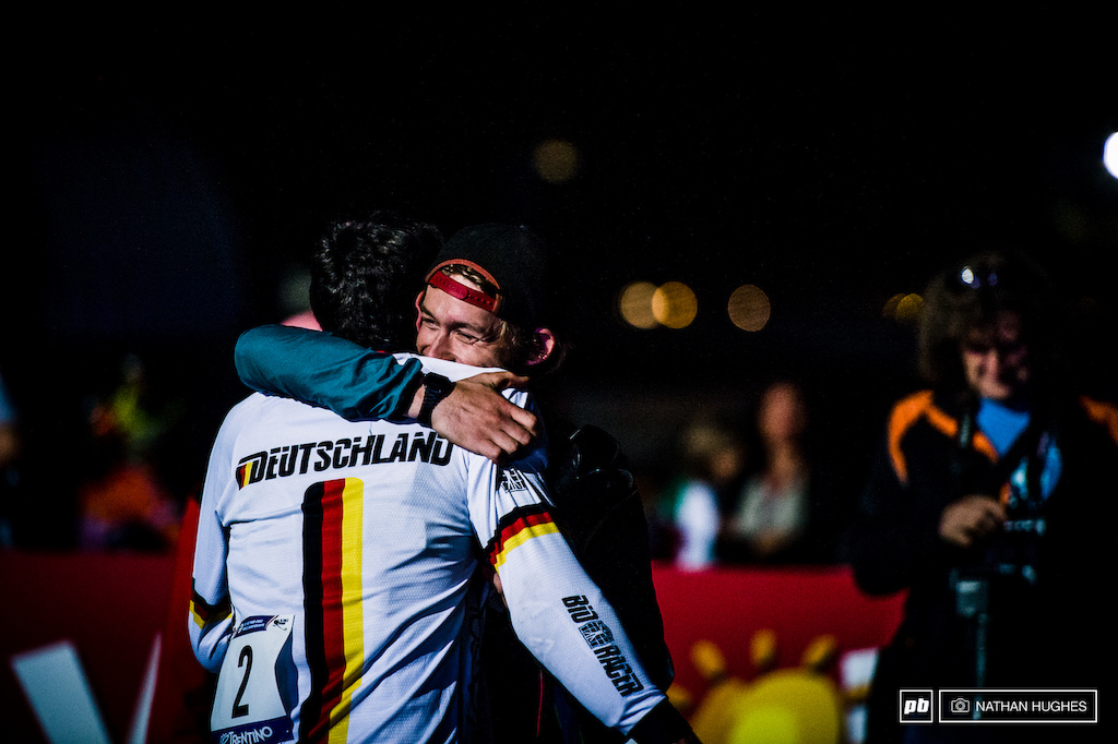 Last Bike s and Germany s Golher absolutely shell-shocked to take gold here in Italy.