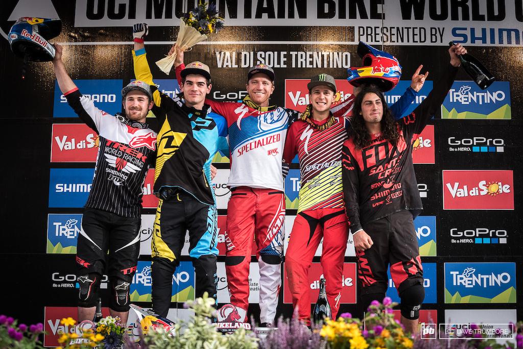 Men s podium.