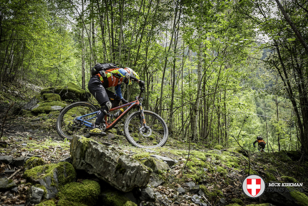 Trans-Savoie 2015 - Day One Race Action