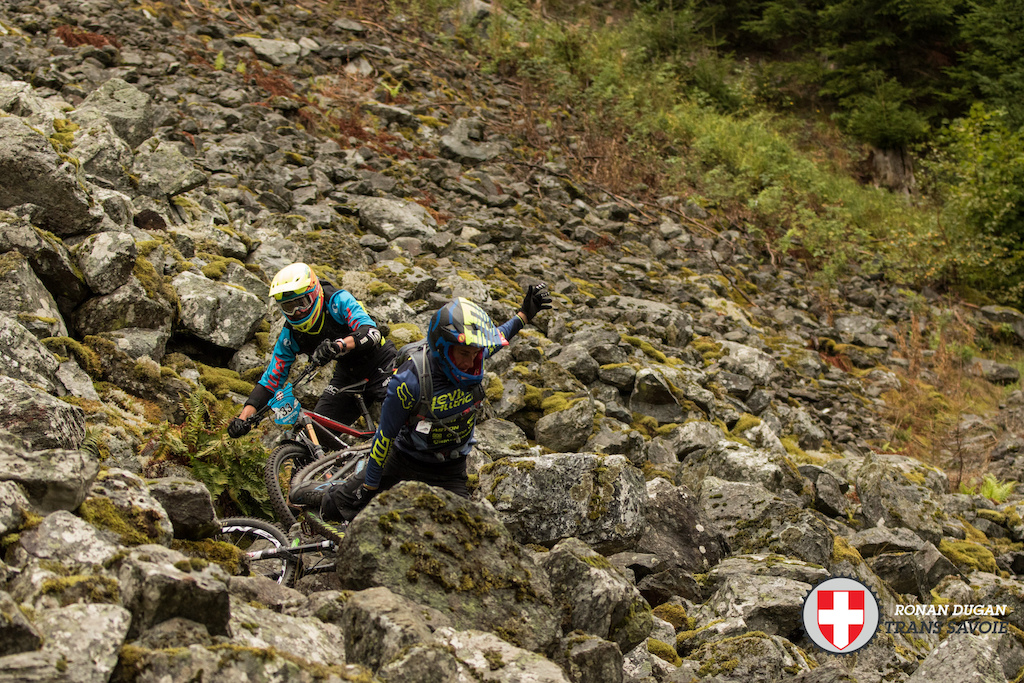 Trans-Savoie 2015 - Day Two Race Action