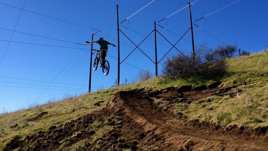 Step up jump that I built.