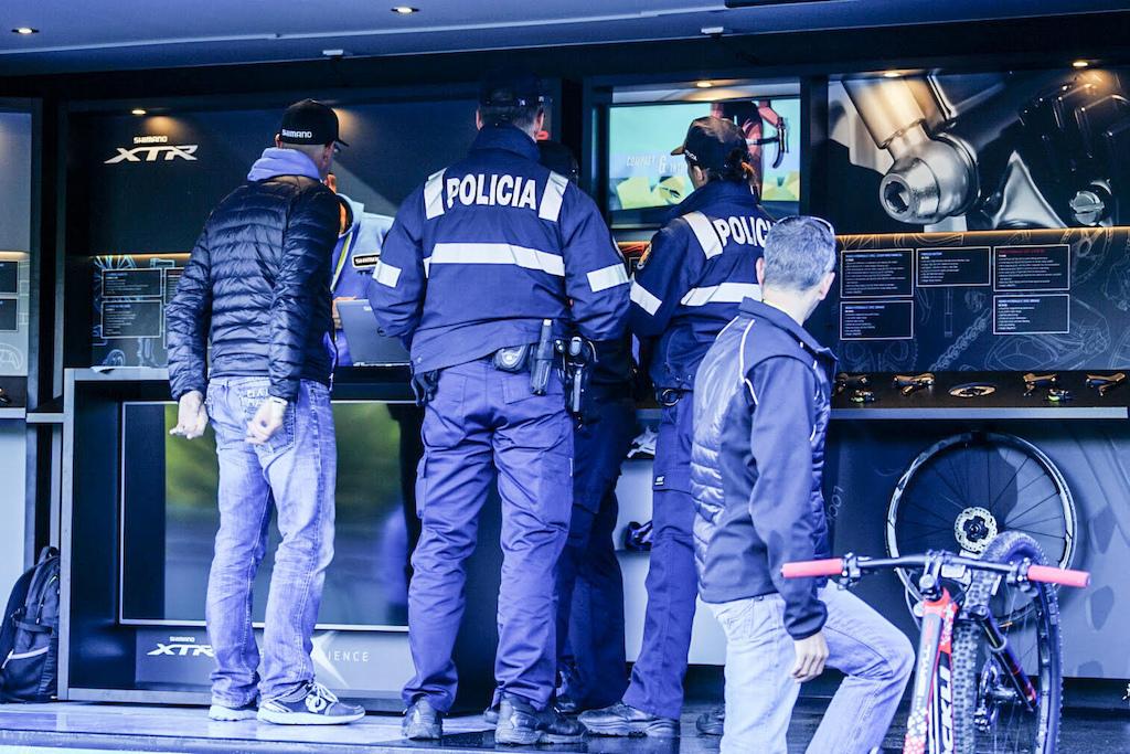 World Champs 2015. Shimano truck broken into. Photo Matt Delorme