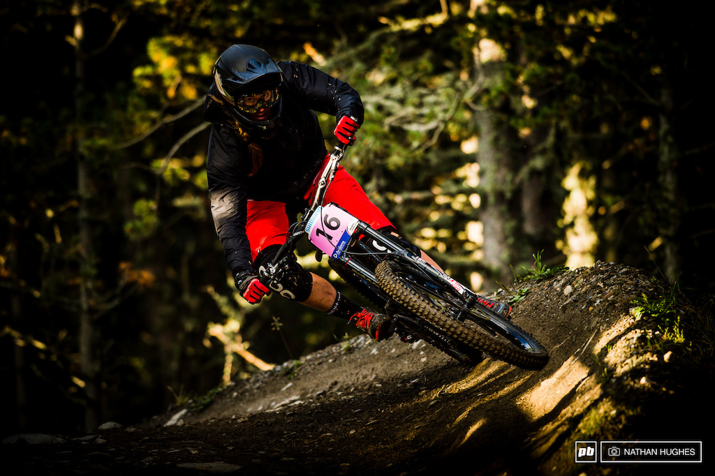 Miranda Miller put the smackdown on the Vallnord steeps to claim 8th and keep the top results flowing.