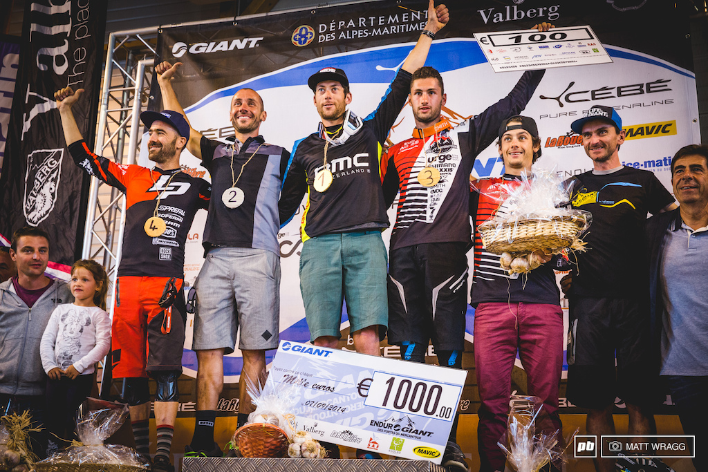 Your mens top five: Bailly-Maitre, Barel, Nicolai, Vouilloz and Cure.