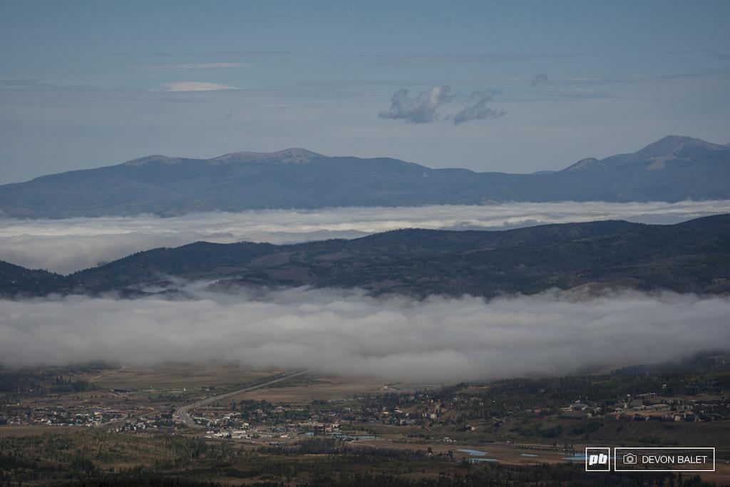 Classic Fraser Valley fog.