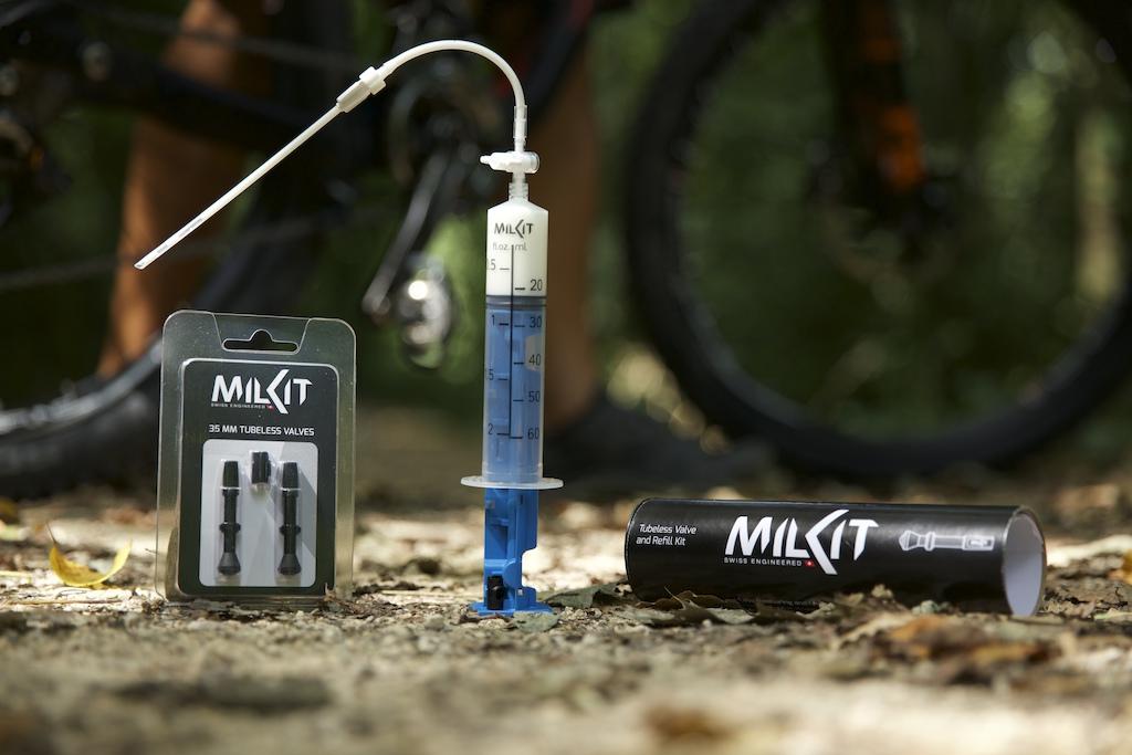 milKit valves set and milKit compact