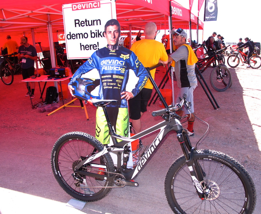 Damian Oton wanted to make sure that everyone got to try his newest Enduro machine the Hendrix.