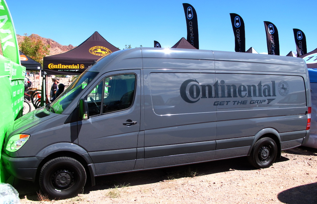 I could totally live in the van that Continental uses for their tire program. Heck it might be bigger than my home.