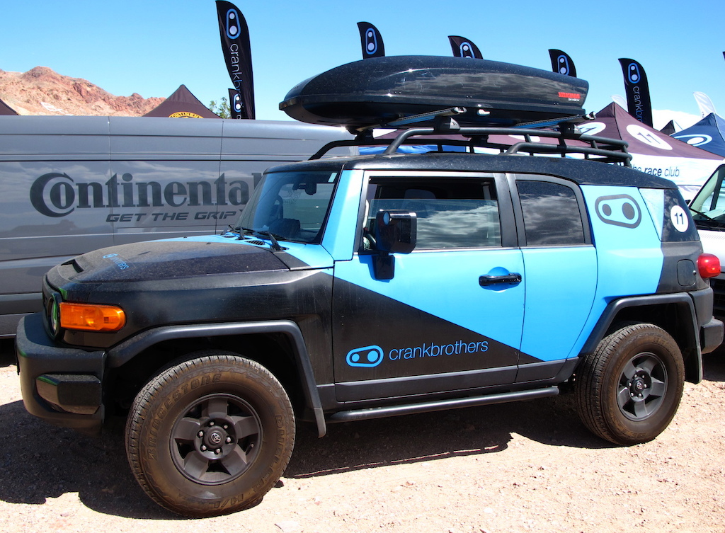We can t verify if the Crankbros FJ Cruiser is 4WD but we bet it gets it done back in its home town of Laguna Beach.