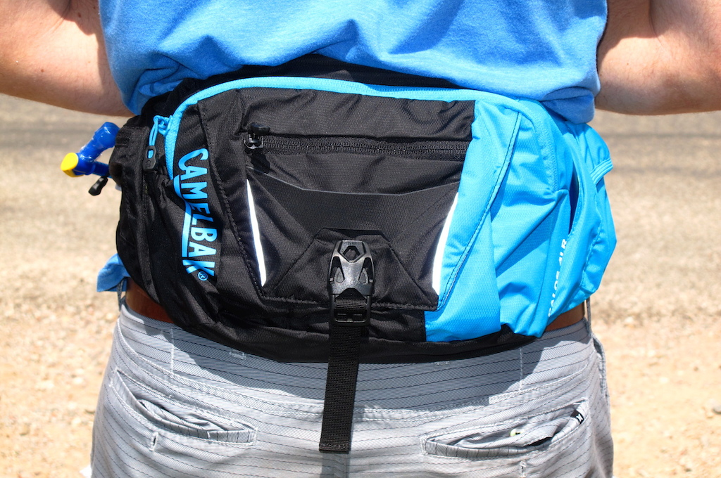 The Palos 4LR is the latest hip pack from Camelbak. It holds 1.5L of water and 2.5L of gear space. The 65USD pack will be in stores soon.