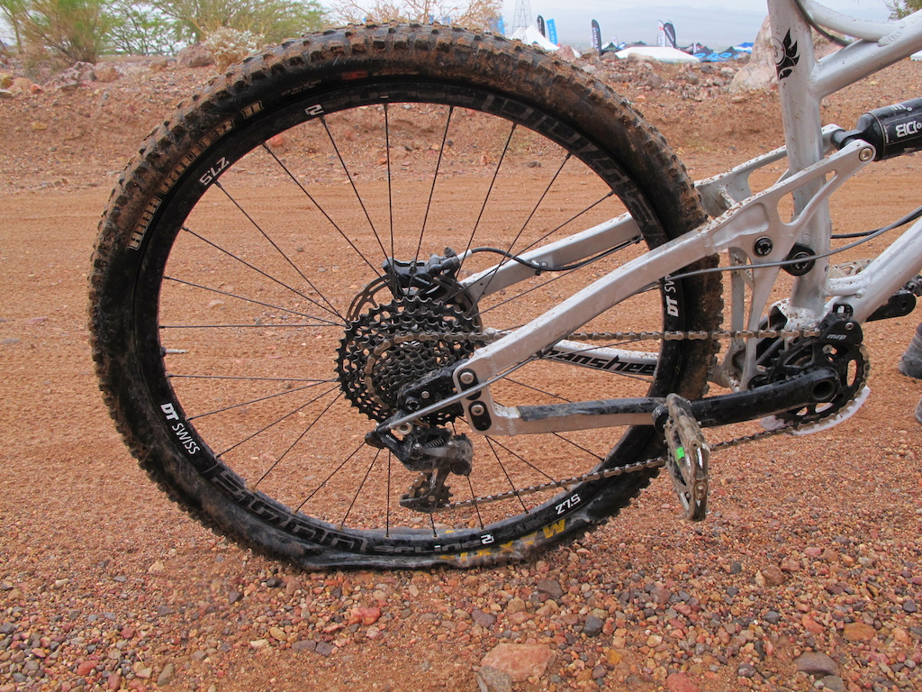 More flats - no tires are safe in the desert.