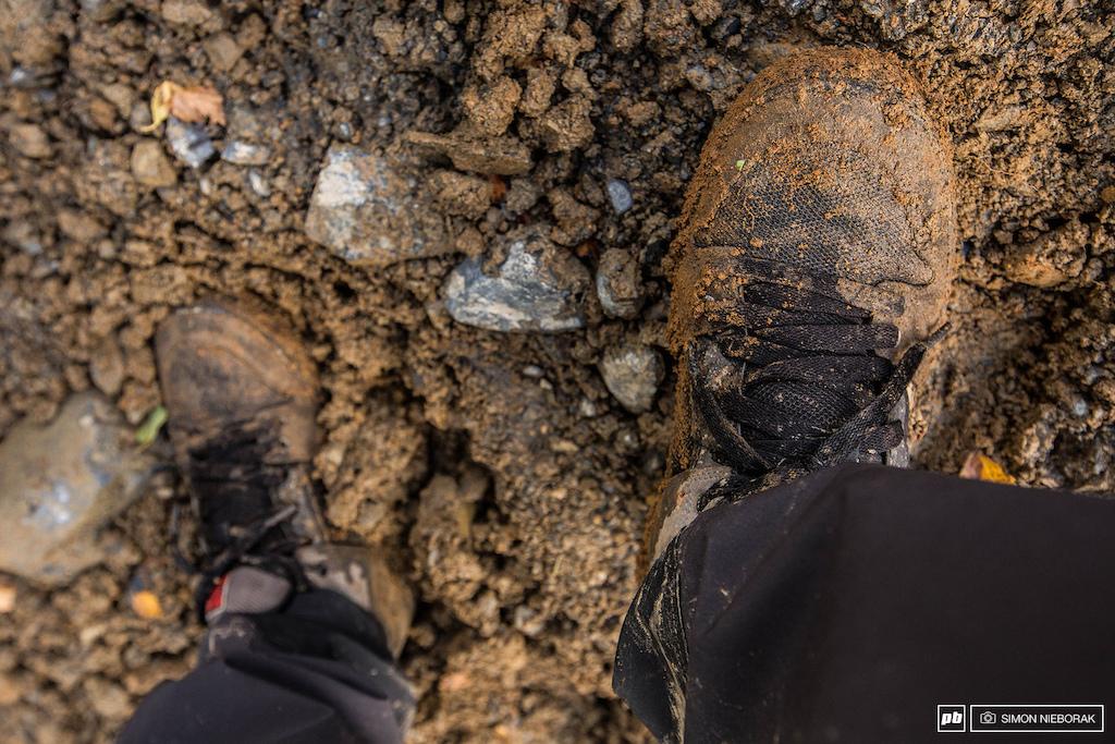 It got muddy... very muddy