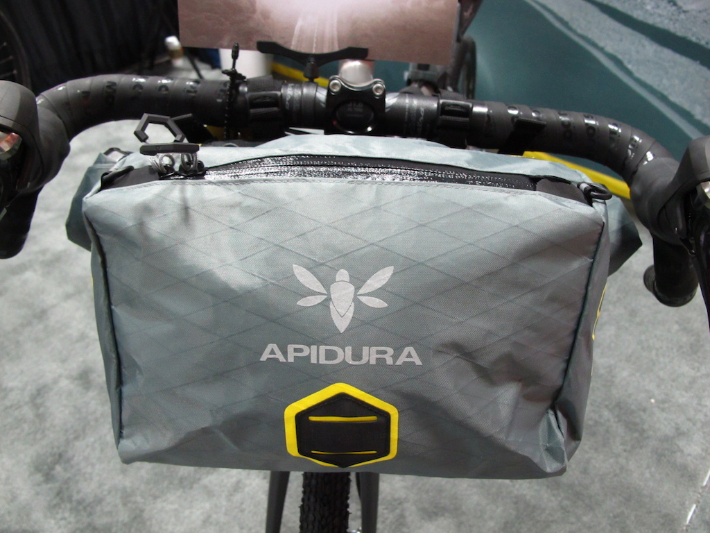 Nice looking bike packing gear from Apidura.
