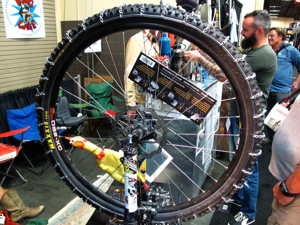 Not rocking a plus or fat bike but still need some extra traction Check out these Slip NOT chains from Twofish Unlimited.