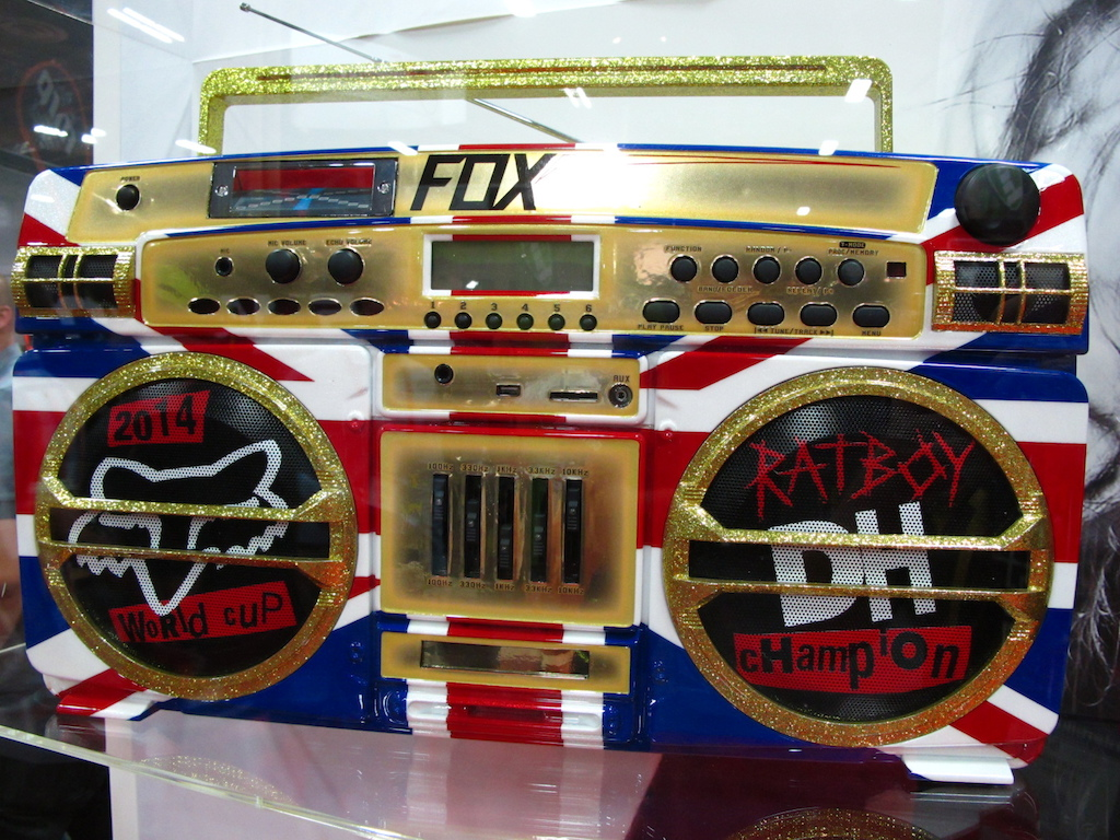 And the most baller ghetto blaster goes to Fox and Rat Boy.