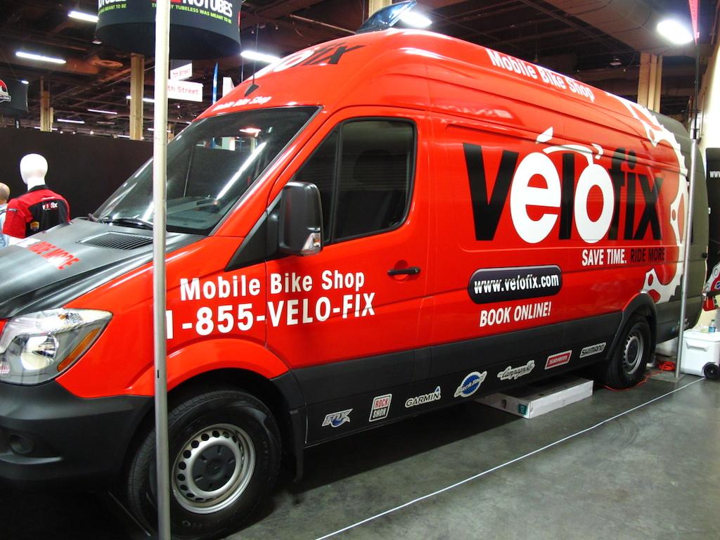 Velofix s Mobile Bike Shop