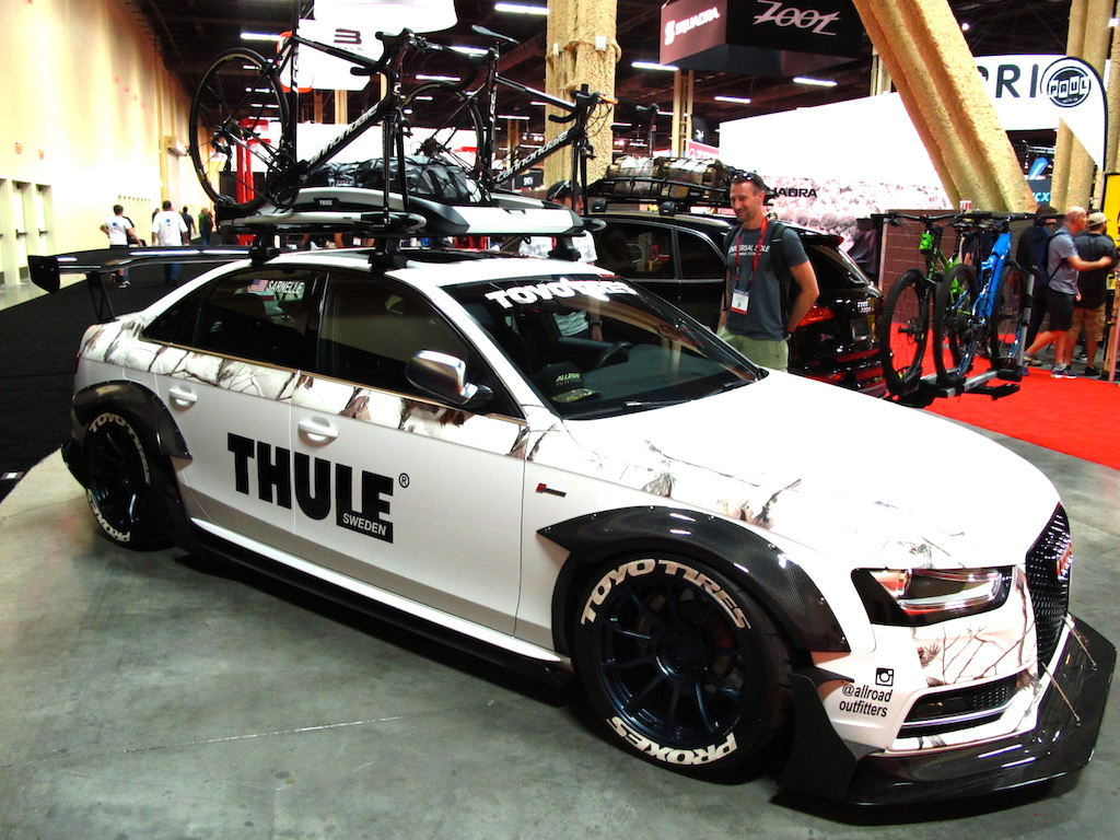 Thule s Audi is looking hot to trot.
