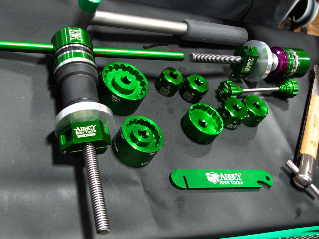 Abbey Bike Tools are from Bend Oregon and they are for your prosummer and shop wrench that likes high end tools.