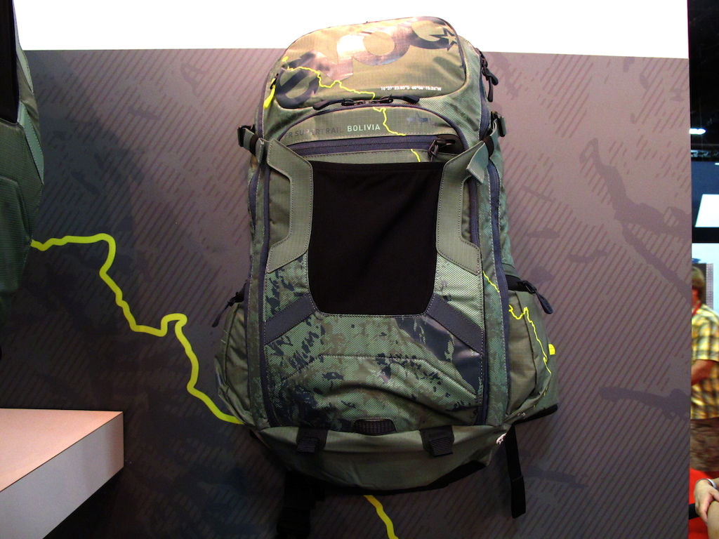 EVOC s Bolivia edition pack.