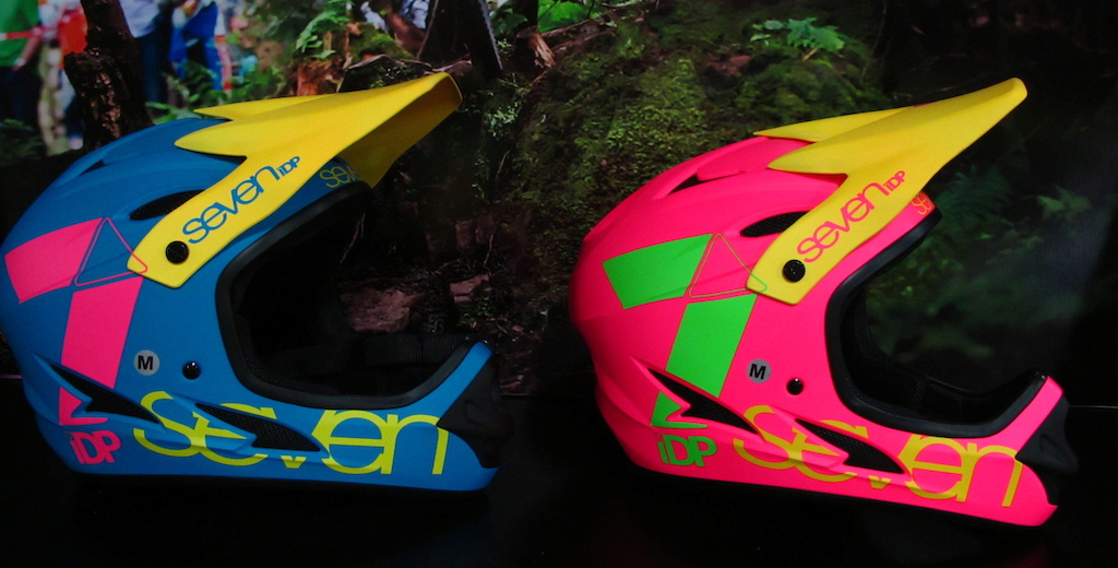 7 iDP s new full face helmet.