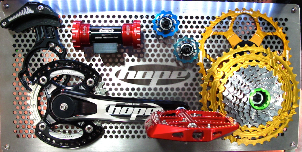 The Hope drivetrain is looking good and based on where it s made we know that it ll hold up to the worst elements.