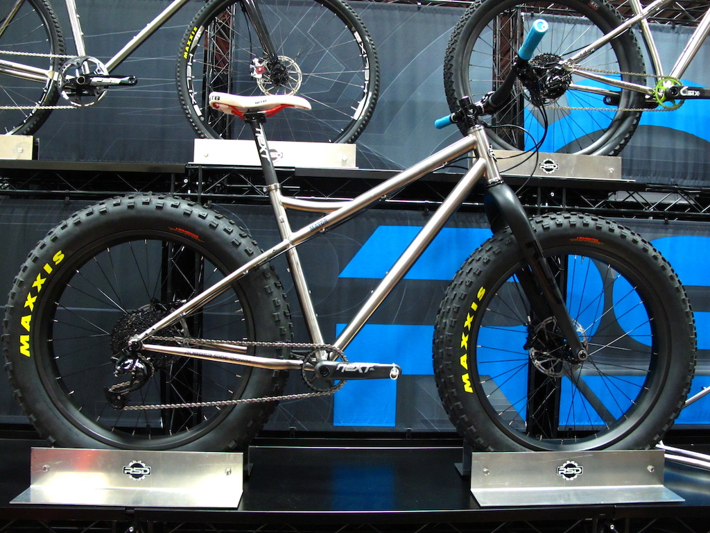 The Ti Major from RSD is a sweet looking fat bike. Complete as pictured you d look to part with 5799 with the Carbon wheels.