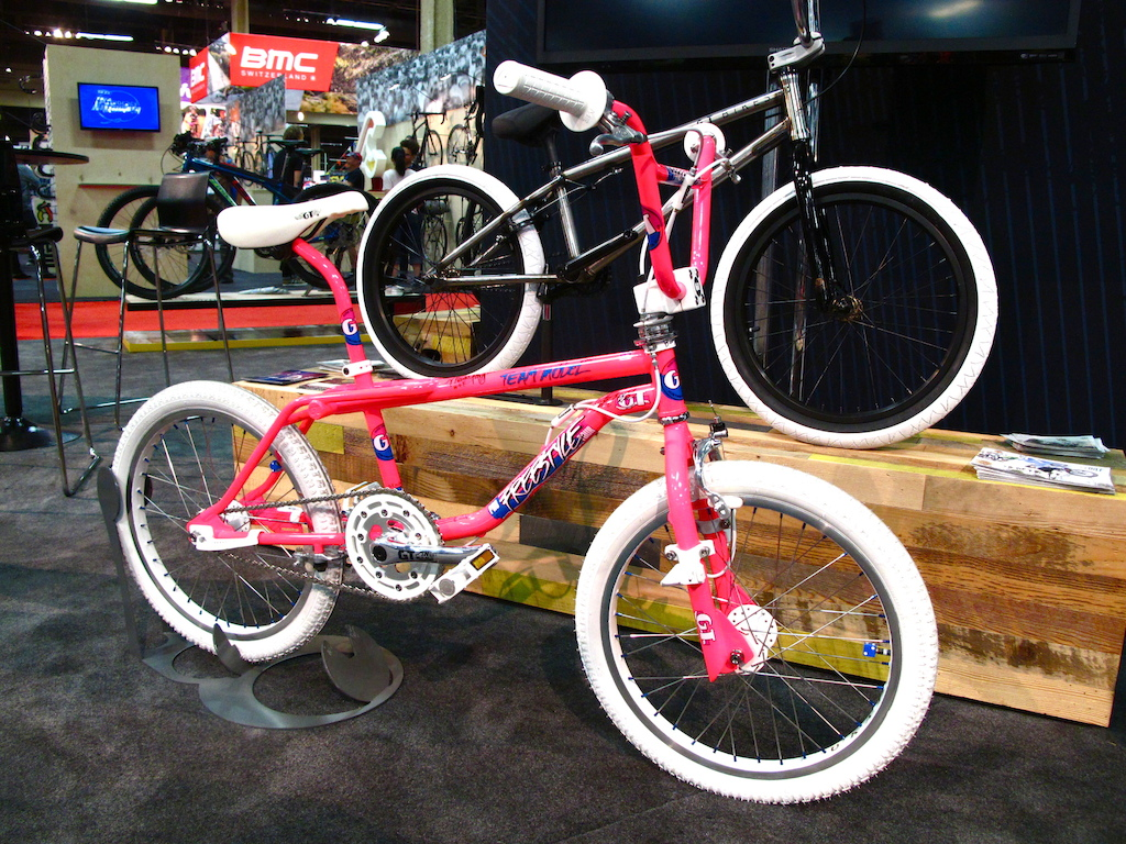 This all original and immaculate BMX is from 1987 and was on display at the GT booth.