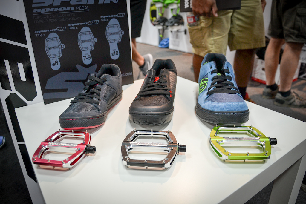 Spank have released three sizes of their spoon pedal so that all shoe sizes can find a fit that suits them best.