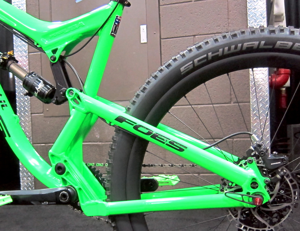 Brent Foes revisits the dual-diameter wheel concept with the Mixer Trail Interbike 2015