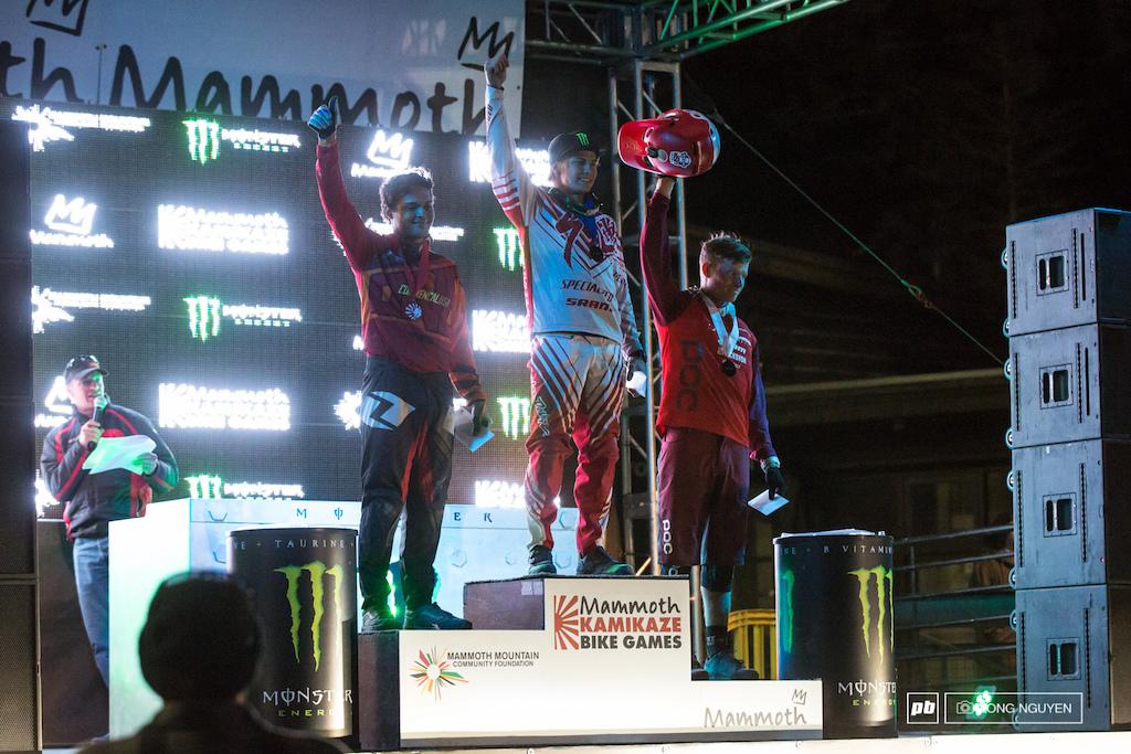 Pro Men s Winners 1st Mitch Ropelato 2nd Austin Warren 3rd Luca Cometti